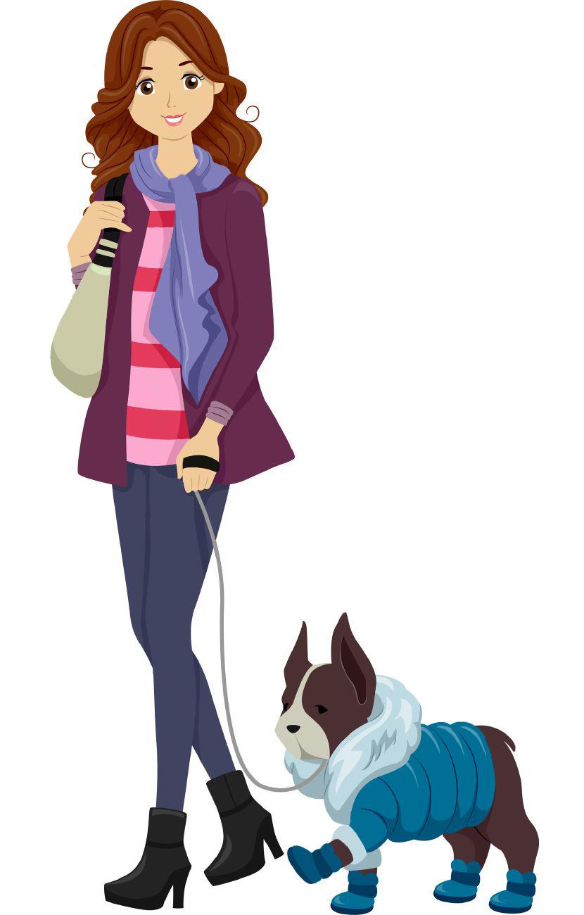 لباس برای سگ ها