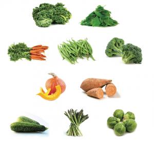 سبزیجات مفید برای سگ ها
