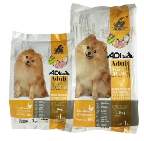 غذا خشک آ دی سگ بالغ نژاد کوچک با طعم مرغ