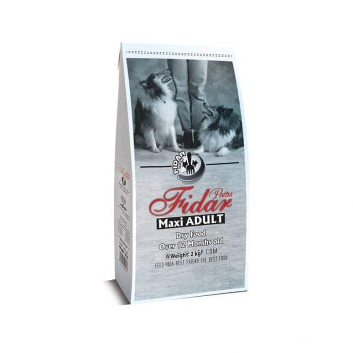 غذا خشک سگ بالغ نژاد بزرگ فیدار