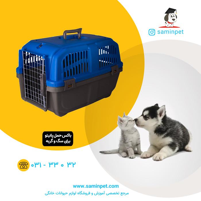 باکس حمل پانیتو مخصوص سگ و گربه